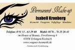 Permanent make-up und cosmetician Isabell Kronberg